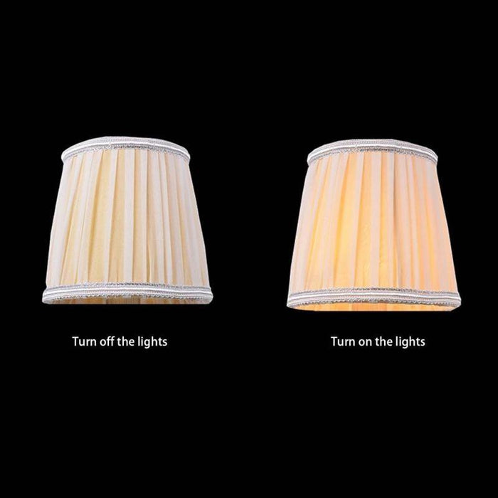 Lamp Shades - Classical Lampshade Crystal Candle Special Cover