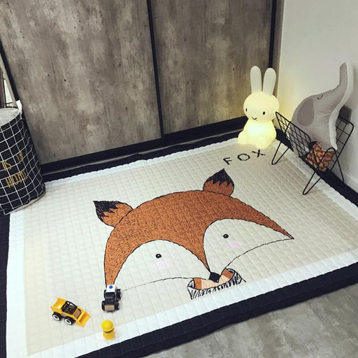 Outdoor Mat & Rugs - Cartoon Animal Kid Prints Outdoor Mats