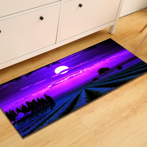Outdoor Mat & Rugs - Purple & Lavender Anti Slip Outdoor Mats