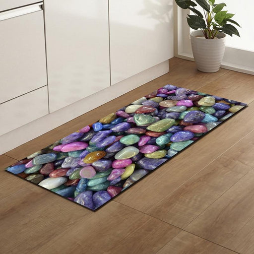 Outdoor Mat & Rugs - Small Stones Anti-Slip Outdoor Mats