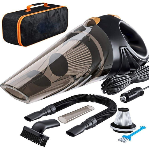 Portable Vacuum Cleaner - 4800pa Strong Power Car Vacuum Cleaner