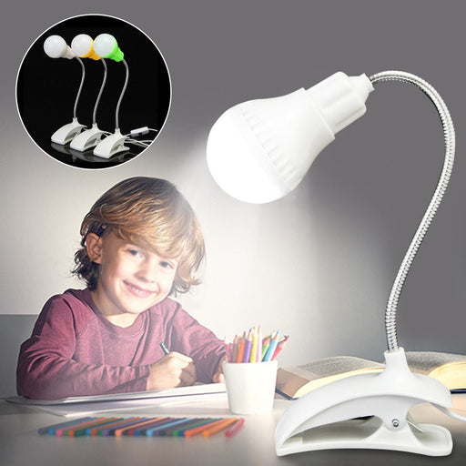 Reading Lights - Rechargeable Mini Flexible USB Clip-On Table Reading Lights