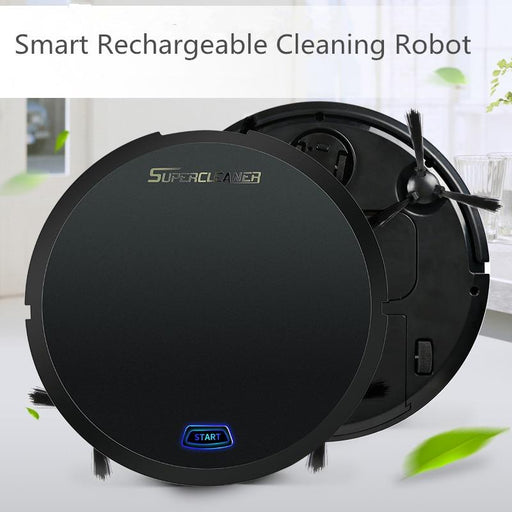 Robot Vacuum Cleaners - Rechargeable Electric Robot Smart Sweeping Vacuum Cleaner