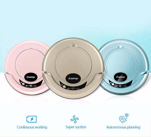 Robot Vacuum Cleaners - Smart Wireless Robotic Vacuum Cleaning For Home Automatic Cleaning