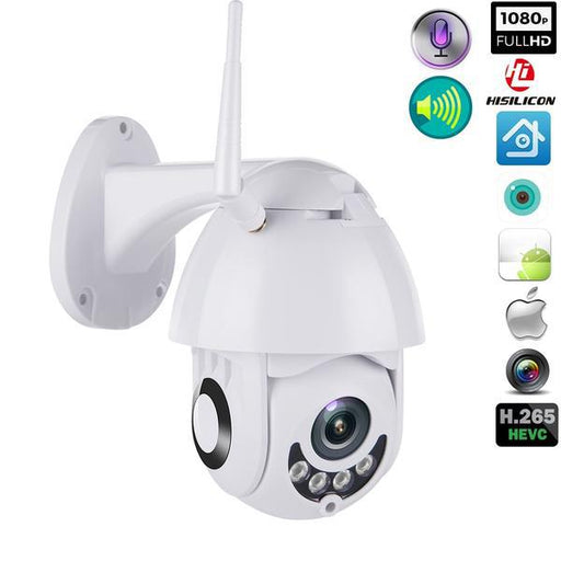 Security Cameras - Wifi Surveillance Indoors Or Outdoors Speed Dome CCTV Security Camera