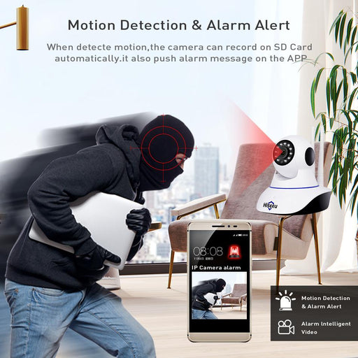 Security Cameras - Wireless Camera Home Security Surveillance With Night Vision