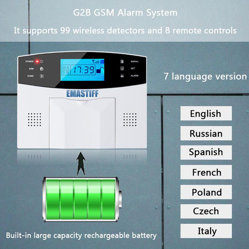 Security Sensors & Alarms - IOS & Android APP Control Wireless Home Security System