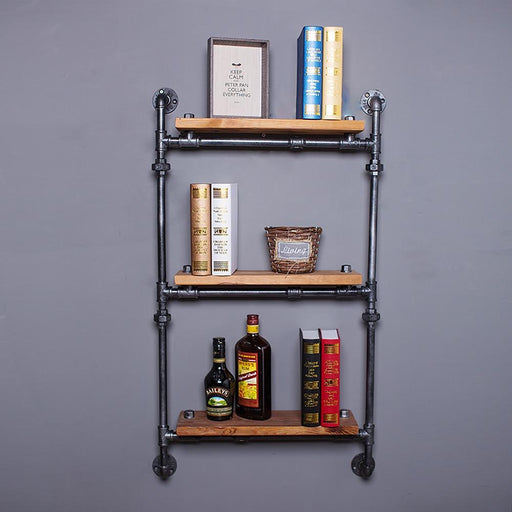 Shelf - Creative Retro Pipe Storage Display & Decoration Shelf