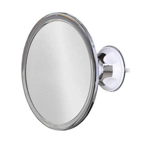Shower Accessories - 360 Degree Rotating Anti-Fog Bathroom Mirror With Locking Suction