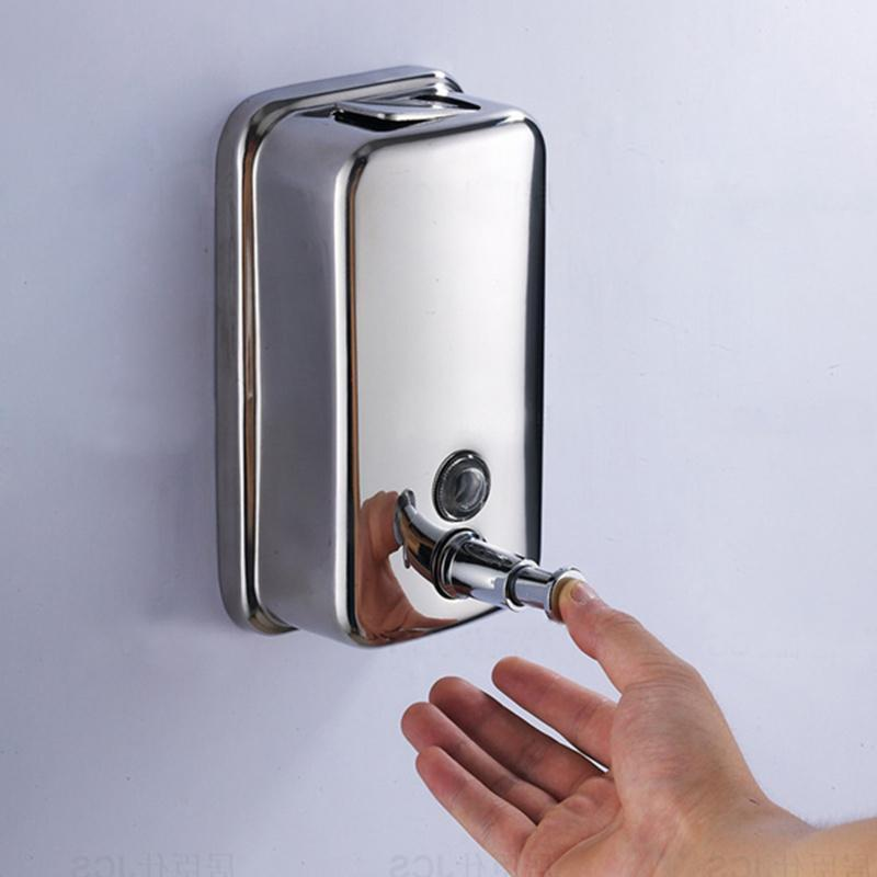 Wall Mounted Stainless Steel Liquid Hand Soap Dispenser Index Cove