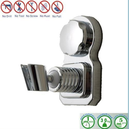 Shower Accessories - Wall Mounted Suction Movable Bathroom Shower Head Holder