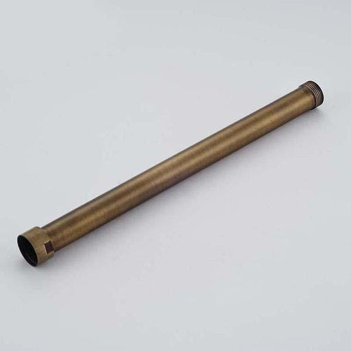 Shower Arm & Bar - Antique Brass Extension Tube For Shower Faucet