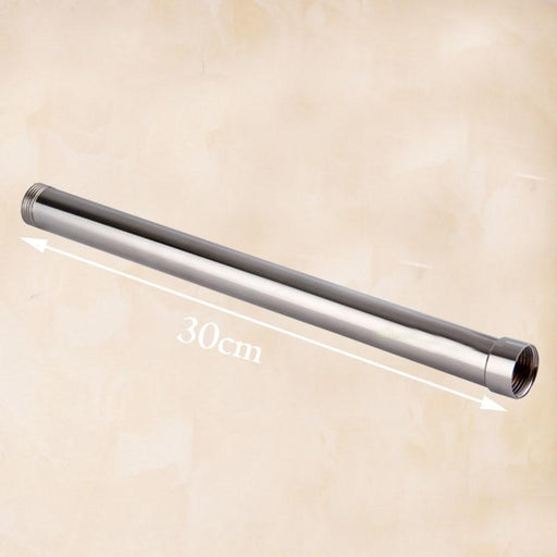 Shower Arm & Bar - Round Bathroom Shower Faucet Pipe Extension Tube Bar