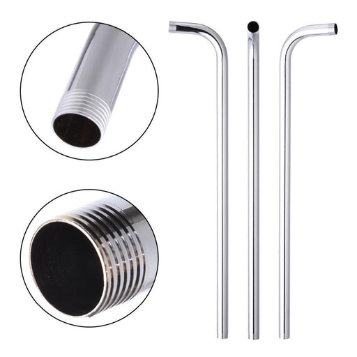Shower Arm & Bar - Stainless Steel Extension Arm Tube Bracket For Rainfall Shower Head