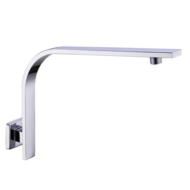 Shower Arm & Bar - Stainless Steel Gooseneck Shower Arm
