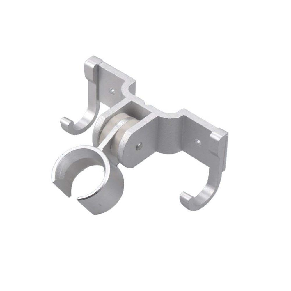 Shower Brackets - Solid Adjustable Rotatable Aluminum Bathroom Shower Head Holder