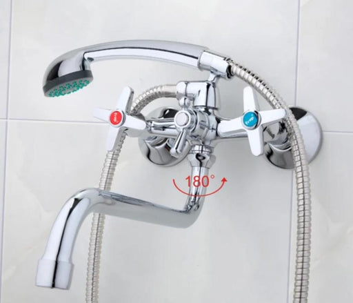 Shower Faucet - Chrome Polished Bathroom Faucets