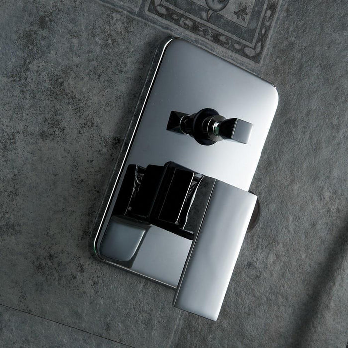 Shower Faucet - Wall Mount Shower Mixer Control Valve And Shower Faucet