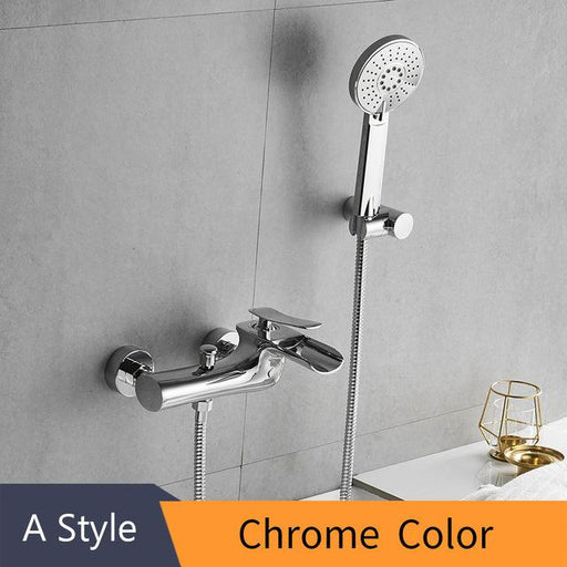 Shower Faucet - Wall Mounted Bathtub Faucet Set