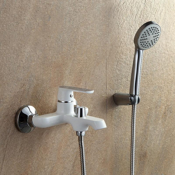 Shower Faucet - Wall Mounted Bathtub Rain Shower Mixer Set