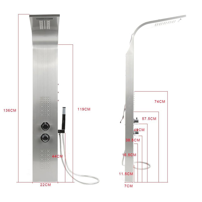 Shower System - Bathroom LED  Shower Panel