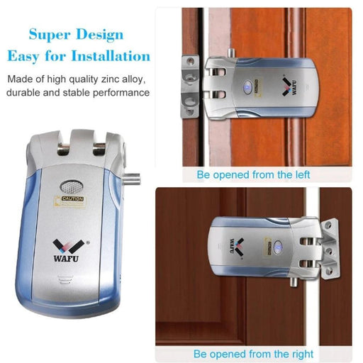 Smart Door Locks - Electric Door Lock Wireless Control With Remote Control