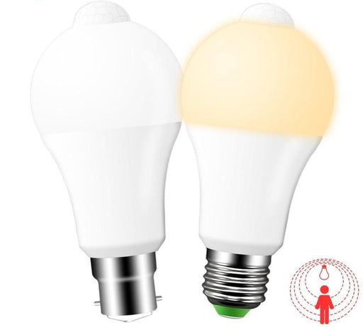 Smart Lights - Dusk To Dawn Smart Light Bulbs With Motion Sensor