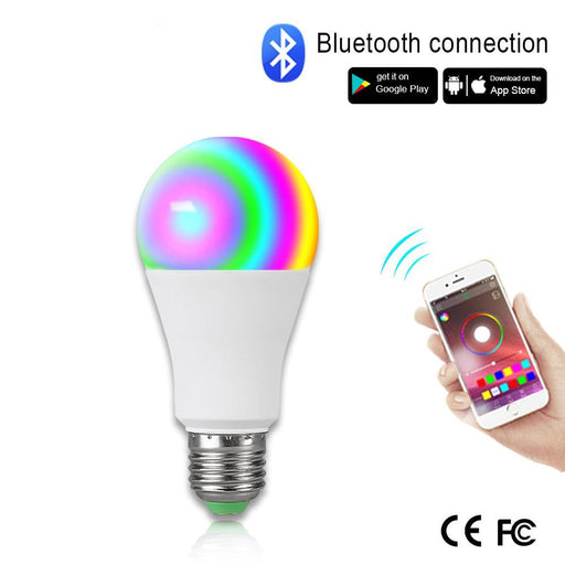Smart Lights - Wireless Bluetooth Smart Bulb Music Control 20 Modes