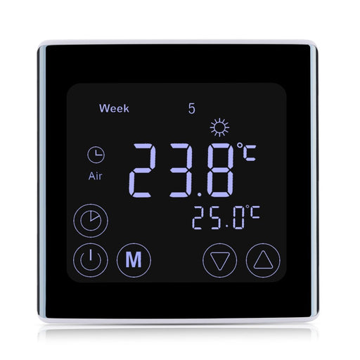 Smart & Wifi Thermostat - Smart LCD Display Heating Touchscreen Room Temperature Controller