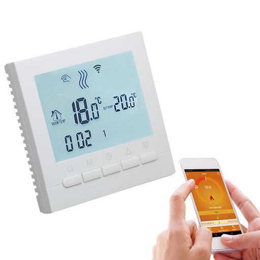 Smart & Wifi Thermostat - WIFI Thermostat Electric Heating Controlled With IOS & Android APP