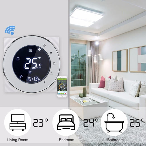 Smart & Wifi Thermostat - WIFI Thermostat Programmable Heating Temperature Control