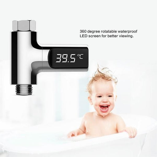 Temperature Control - LED Display Shower Temperature Meter Monitor