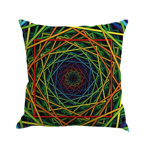 Throw Pillows - Geometry Painting Linen Decorative Pillows