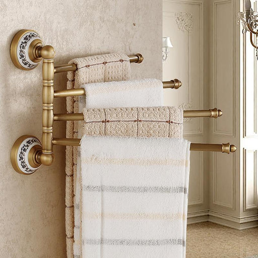 Towel Bars & Hooks - Bathroom Rotation Bars Towel Holder