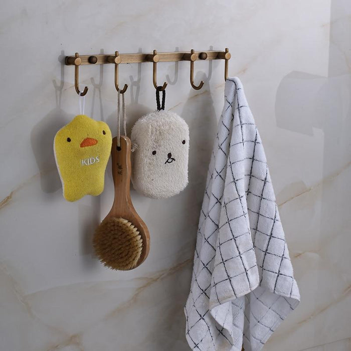 Towel Bars & Hooks - Multi-function Wall Hook