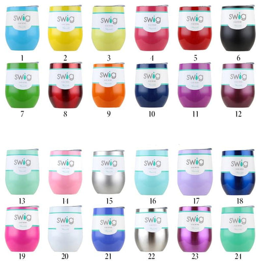 Tumblers - 9oz Egg Shaped Stainless Steel Tumbler