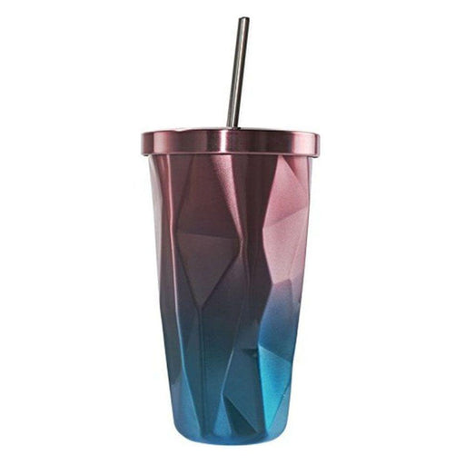 Tumblers - Hot & Cold Double Wall Irregular Diamond Tumbler