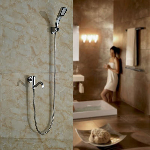 Washing Machine Taps - Single Lever Modern Shower Water Taps With Accessories