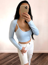 Load image into Gallery viewer, Tyra Top (Baby Blue)