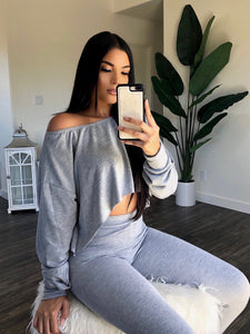 Jada Pant Set (Gray)