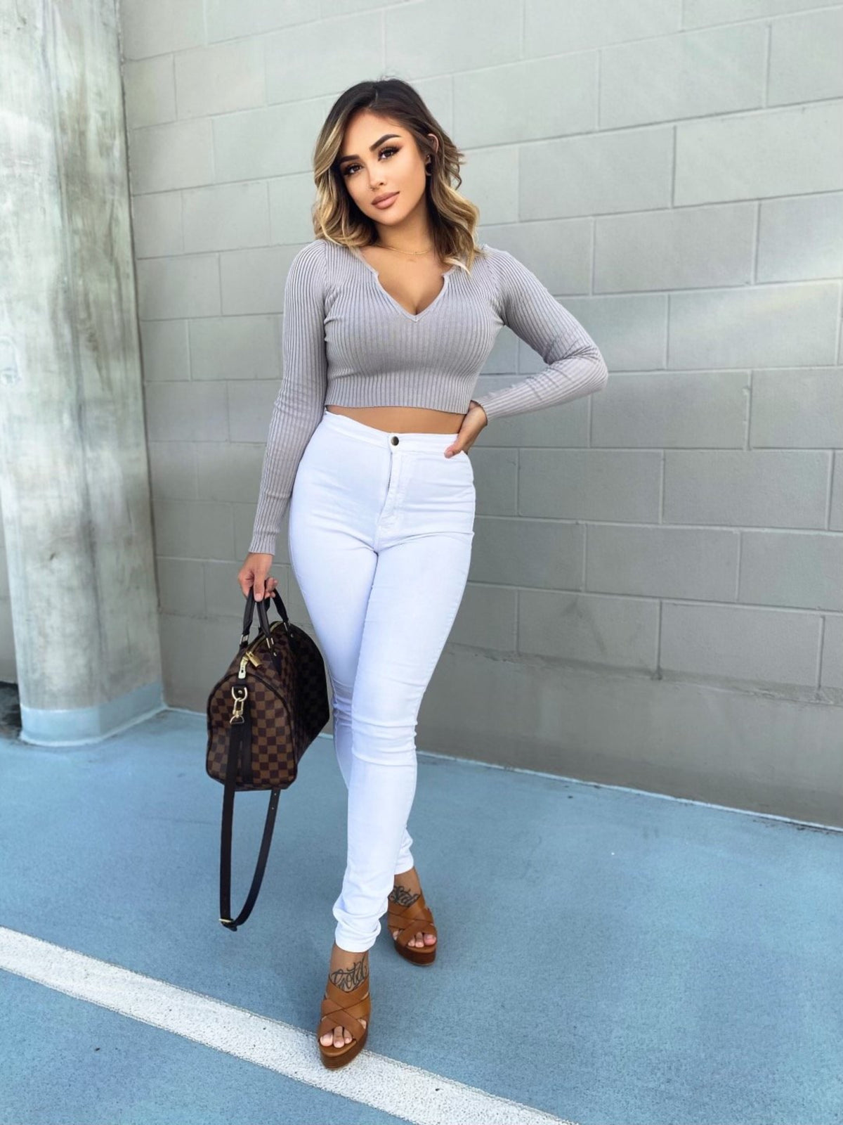 Darby Top (Gray)