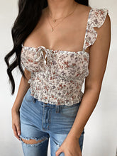 Load image into Gallery viewer, Jade Top (Ivory Floral)
