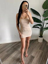 Load image into Gallery viewer, Amari Dress (White Nude)