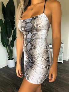 Carina Dress (Snake)