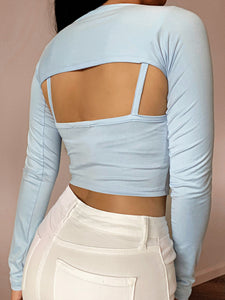 Tyra Top (Baby Blue)