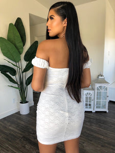 Karina Dress (Ivory)