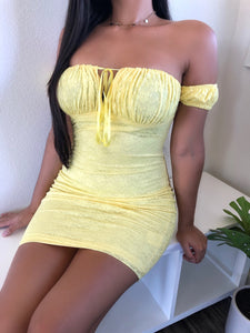 Karina Dress (Yellow)