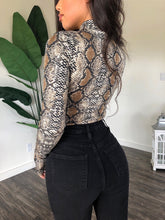 Load image into Gallery viewer, Trish Bodysuit (Snake)