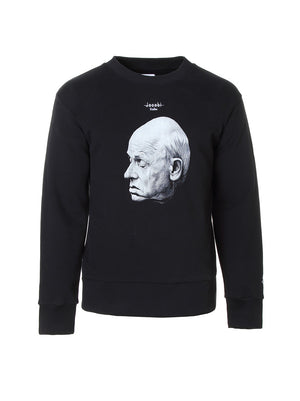 Crewneck Sweatshirt aus American Fleece mit Sacharow Print - Jacobi Studios