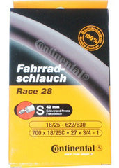 Continental: Race 28 Inner Tube 60mm  700x18/25